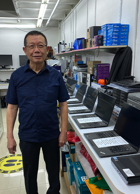 Ricky Tan 2nd Hand Laptop Repair Sell Trade In